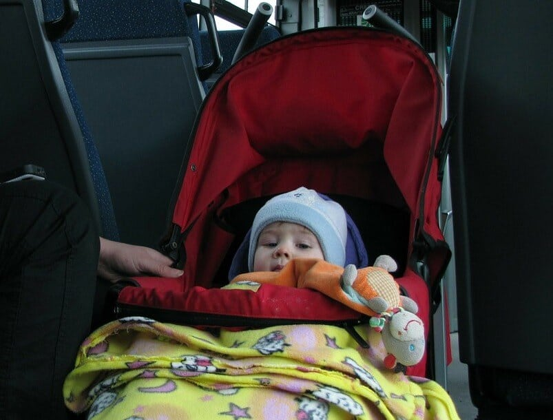 Is stroller allowed in international flight