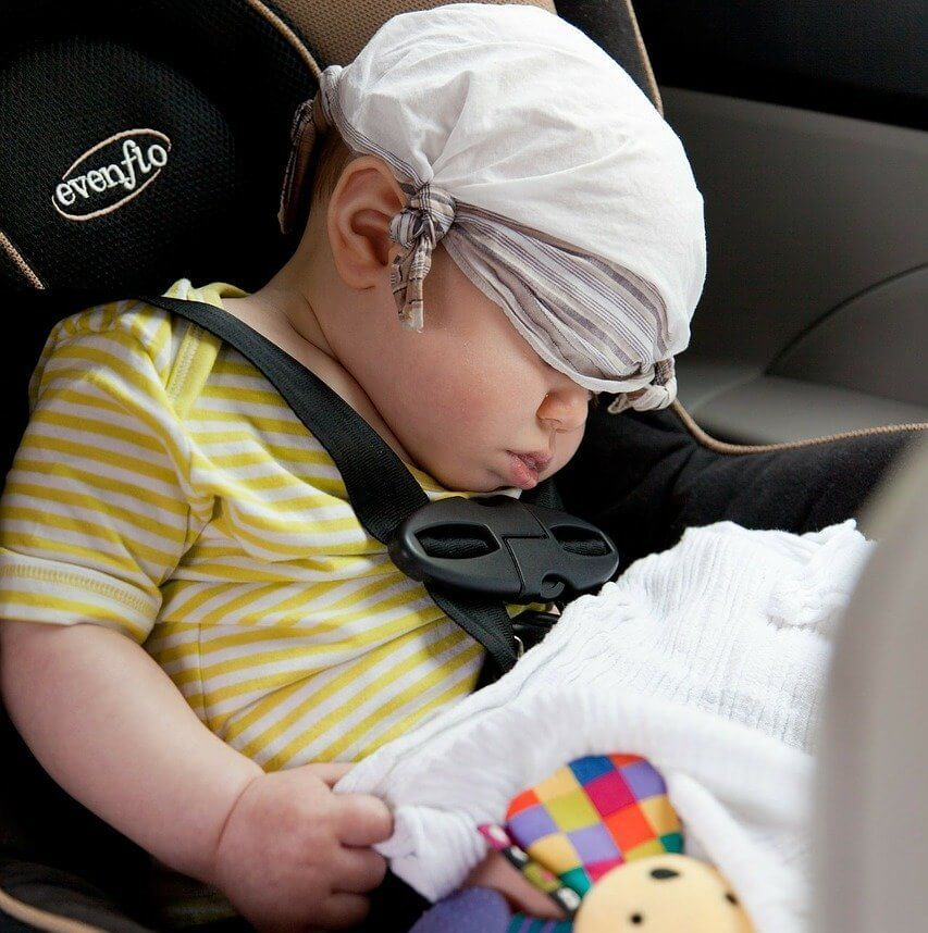 How to clean vomit from car seat straps